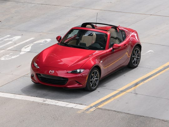 The 2017 Mazda MX-5 Miata appeals more to our all-season