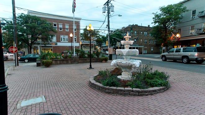 Botany Village's Sullivan Square.