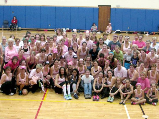 A 2012 Zumba event raised money for EYS.