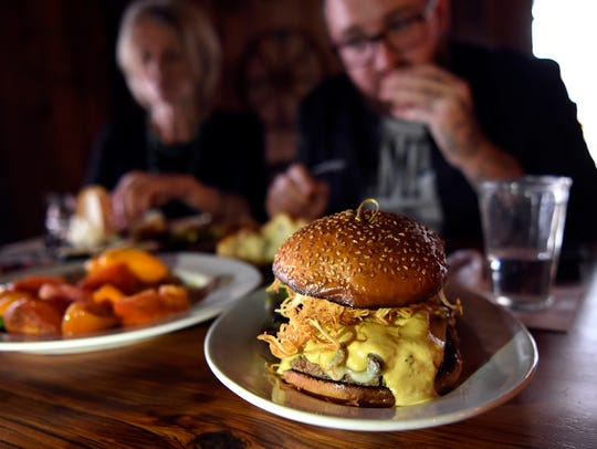 """""""The Impossible Burger"""" at The Barrow House in Clifton,"""