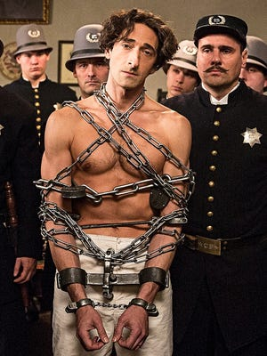 History Channel's two-night event, 'Houdini,' starring Adrien Brody, begins Monday night at 9 p.m. ET/PT.