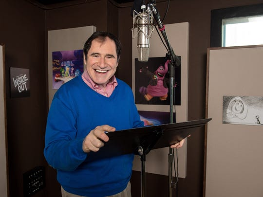 Richard Kind has voiced characters in five Pixar films.