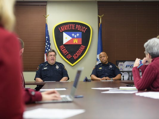 Lafayette Police Department 2018 plans
