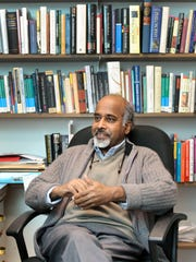 "Professor Prakash Chenjeri will be a part of ""Community Conversation About What Makes Life Meaningful"" scheduled for 7 p.m. Wednesday, May 24, at the Stayton Library."