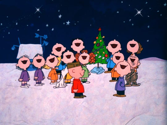 Everybody sings along at the end of 'A Charlie Brown