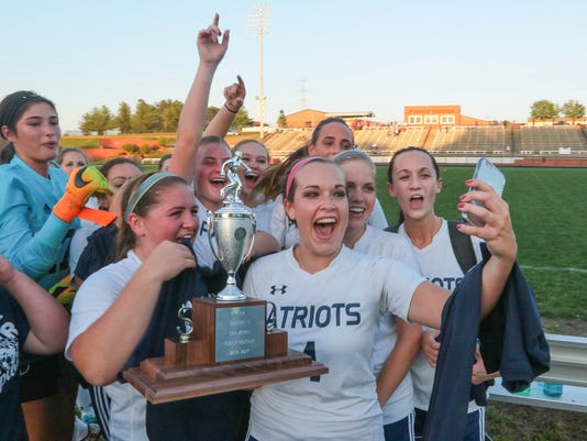 Powdersville vs Carolina Academy girls soccer