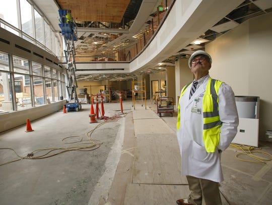Sparrow Hospital Cancer Center Medical Director James