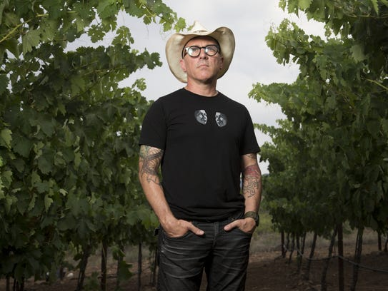 Maynard James Keenan, a musician, winemaker and owner