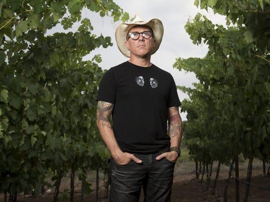 Maynard James Keenan, a musician, winemaker and owner