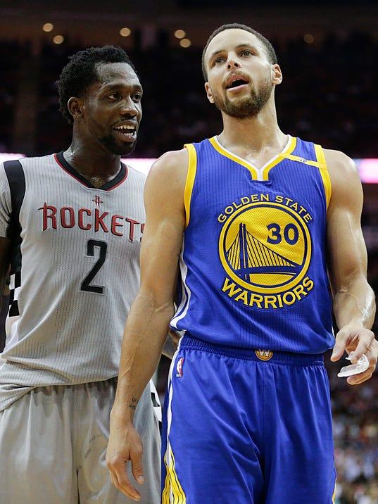 USP NBA: GOLDEN STATE WARRIORS AT HOUSTON ROCKETS S BKN HOU GSW USA TX