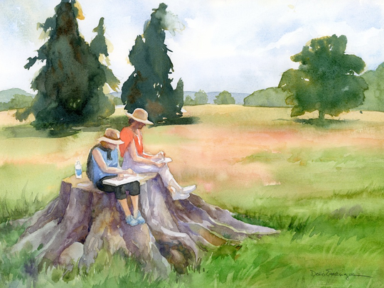 Work by Doris Ettlinger.