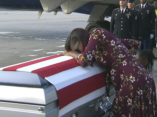 Trump The Fallen Congresswoman