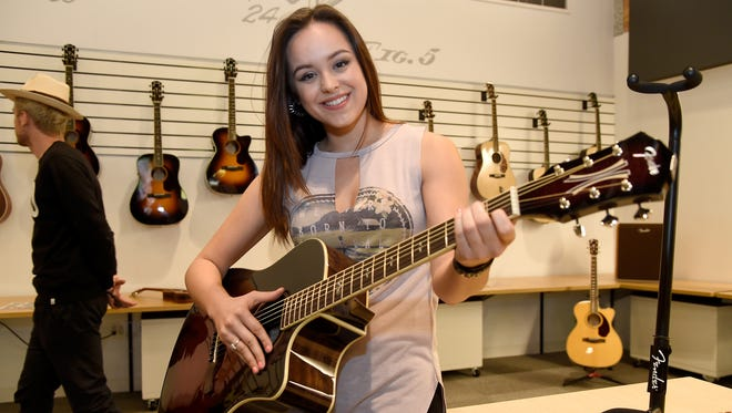 "While ""The Goldbergs"" is on a break from filming, Hayley Orrantia is performing across the country on her Strong, Sweet and Southern Tour. She's at Backstage in Green Bay on Thursday night."