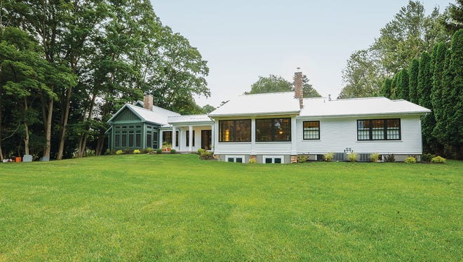 The home was remodeled to look like it had been on the Erie Canal since the 1800s.