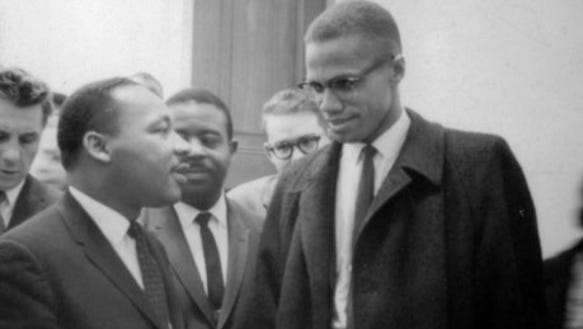 the early backgrounds of martin luther king jr and malcolm x Martin luther king jr and malcolm x are very prominent african  he felt blacks  should start by giving the same race self-respect first he did.
