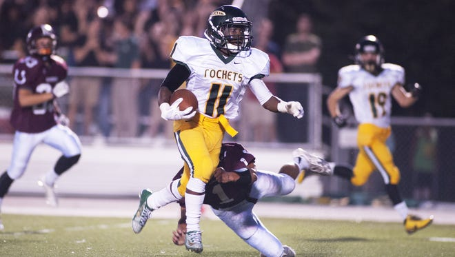 Keyal Talbert is one of the top returning football players for Reynolds.