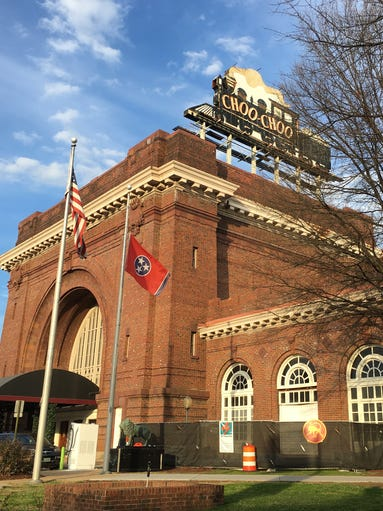 The world-famous Chattanooga Choo Choo terminal station,