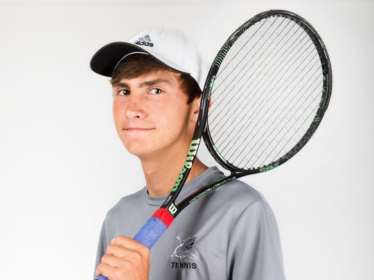 2017 Spring Player of the Year finalist David Vilys, Gulf Coast tennis
