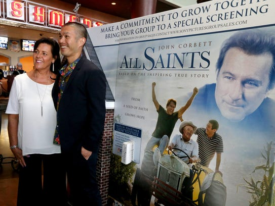 "Debbie Swierk, an extra in the movie ""All Saints"" has"