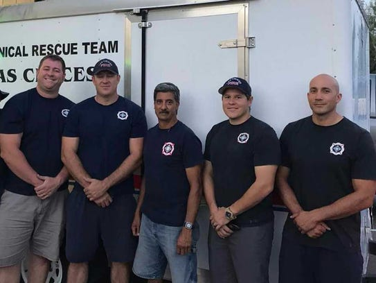 The Las Cruces Fire Department's Technical Rescue Team