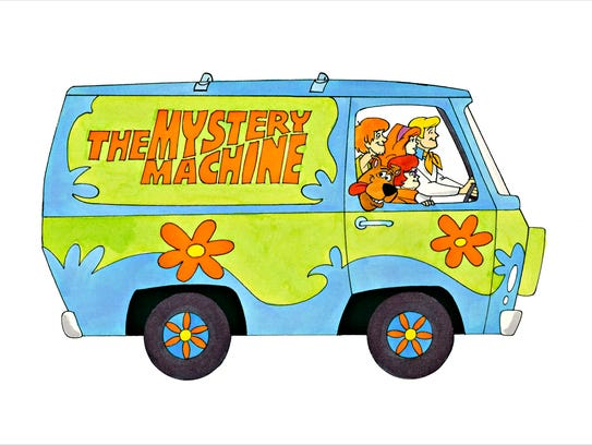 """""""Mystery Machine,"""" by Ron Campbell."""