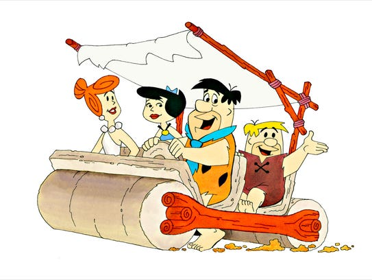"""""""The Flintstones,"""" by Ron Campbell."""
