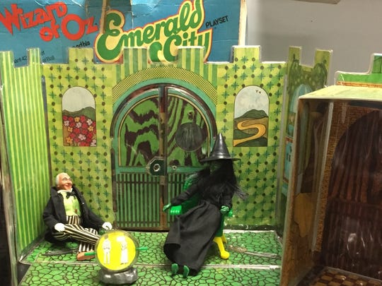 There's no place like Oz for Beth Ward, who still has her Wizard of Oz play set.