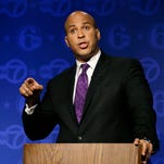 Trade could be a defining issue for Sen. Cory Booker of New Jersey as he works to establish credibility with progressives.