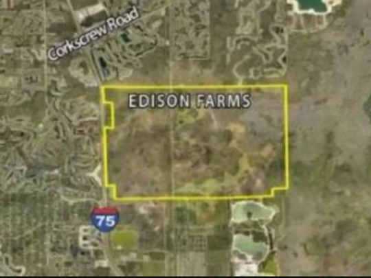 Located just east of Interstate 75, Edison Farms is