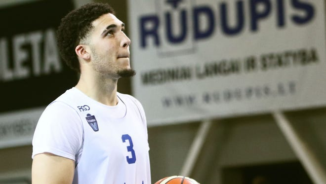 LiAngelo Ball has been playing in Lithuania since leaving UCLA.