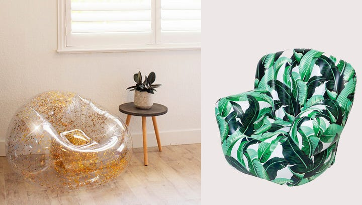 Those inflatable chairs from the '90s are back—here's where to buy them