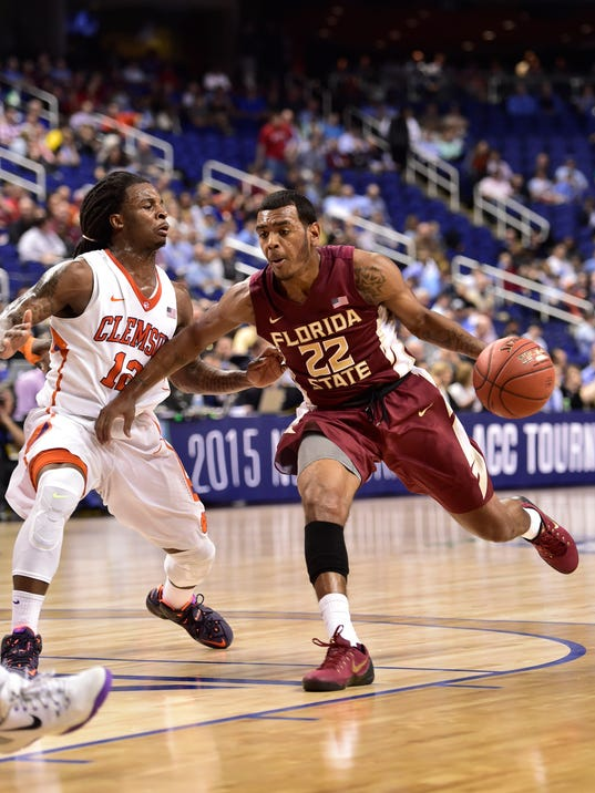 NCAA Basketball: ACC Conference Tournament-Clemson vs Florida State