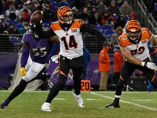 Andy Dalton may be more popular in Buffalo than he