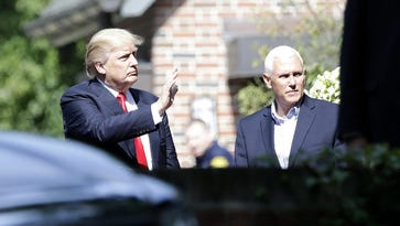 Live updates: 'Welcome home' rally for Pence set for Saturday