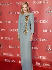Cate Blanchett arrives at the Palm Springs International