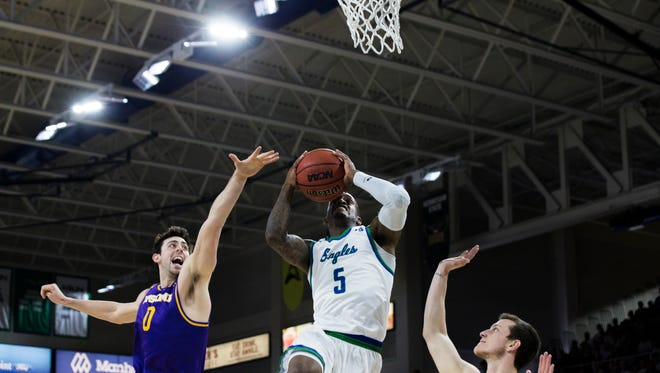 FGCU All-ASUN junior guard and the Eagles hope to make a drive in the NIT after falling short in the ASUN title game against Lipscomb.