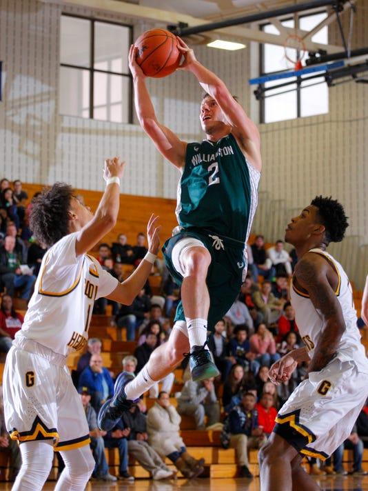 Williamston vs Godwin Heights Regional Basketball