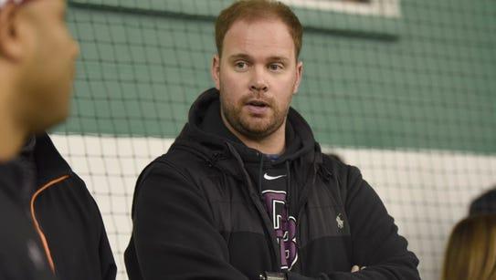 New Don Bosco Prep coach Mike Teel.
