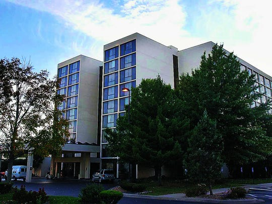 A 2012 photo of the University Plaza Hotel in Springfield