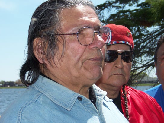 In this May 14, 2010, file photo, American Indian activist