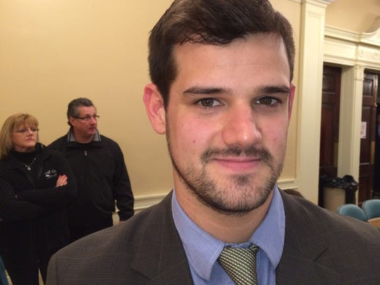 New on the council: Adam Roof, I-Ward 8
