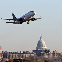 A Republic Airways jet takes off from Reagan National Airport near Washington on  Feb. 23, 2012.