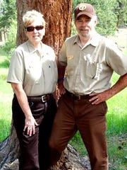 Sharon and Snip Snider travel to Moraine Park in the Rocky Mountain National Park each summer to serve as campground hosts.