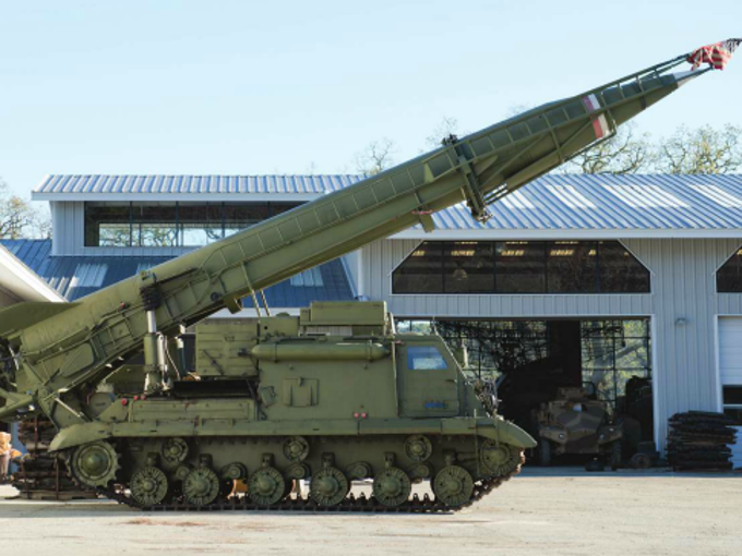 tanks missile launchers are part of military vehicle auction
