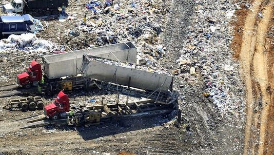 Middle Point still smells: Dozens of complaints continue to be reported about the landfill - Daily News Journal