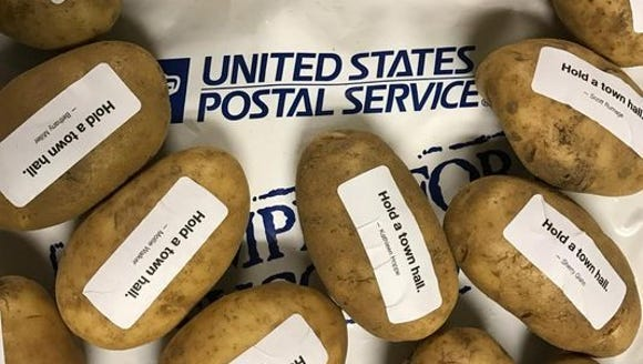Cards Against Humanity sent potatoes to Sen. Ron Johnson,