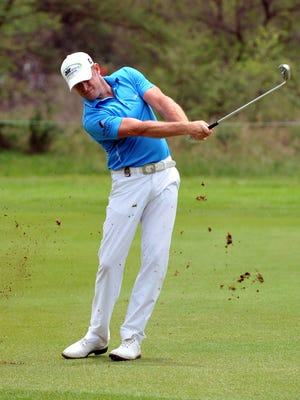 Jamie Donaldson shot a 66 Friday at the Nedbank Golf Challenge.