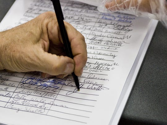 Arizonans signed petitions to bring ballot measures to the voters.