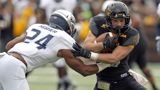 Southern Miss didn't have much depth at receiver this season. But the Golden Eagles, including Casey Martin, stayed relatively healthy throughout the season.