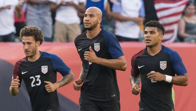 European-based players such as Fabian Johnson (23), John Brooks (6) and DeAndre Yedlin (2) made the USMNT roster for June's World Cup qualifiers.